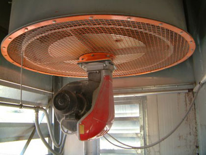 Diesel burner for dryers