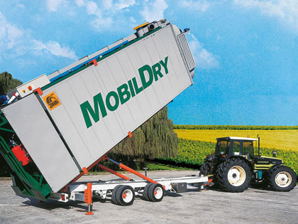MOBILDRY dryer