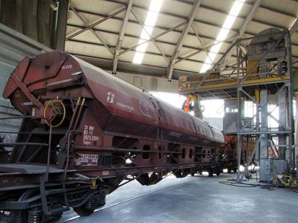KOMPLETTE ANLAGEN: Eisenbahnlogistik