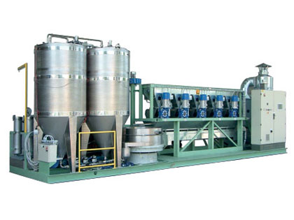 Équipements de production d'huiles