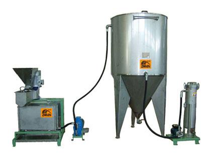 EVO 1 oil system