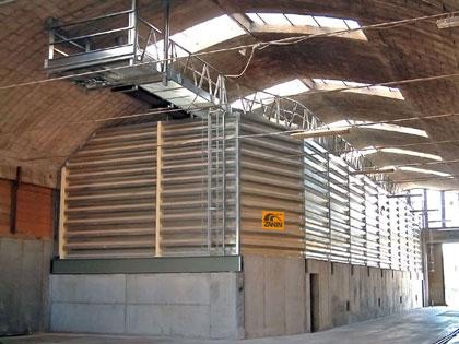 Four-cell silos