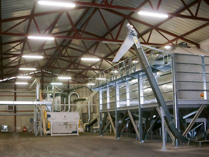 CUSTOMISED SOLUTIONS: pellet production system