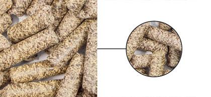 Granulés de colza