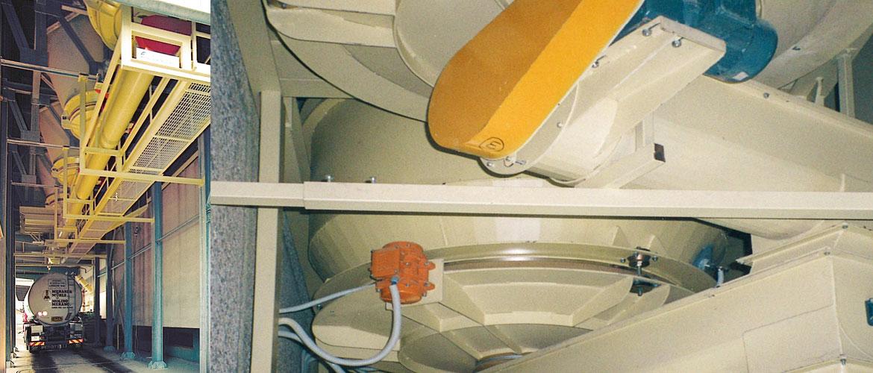 Extracteur à plateau vibrant
