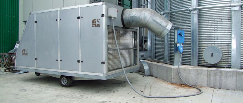 Grain Chiller Grain Cooling System
