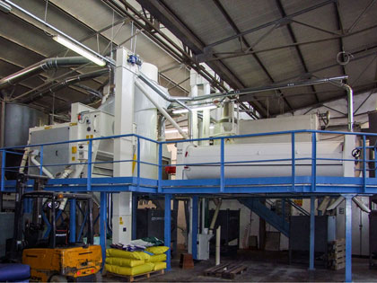 Malting equipment