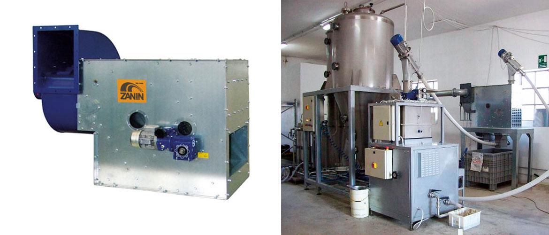 Pré-nettoyeur par aspiration avec tarare et épurateur PA-TD