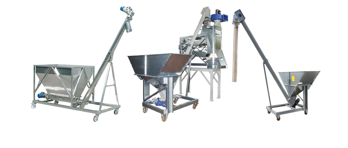 TDC Auger feed hopper