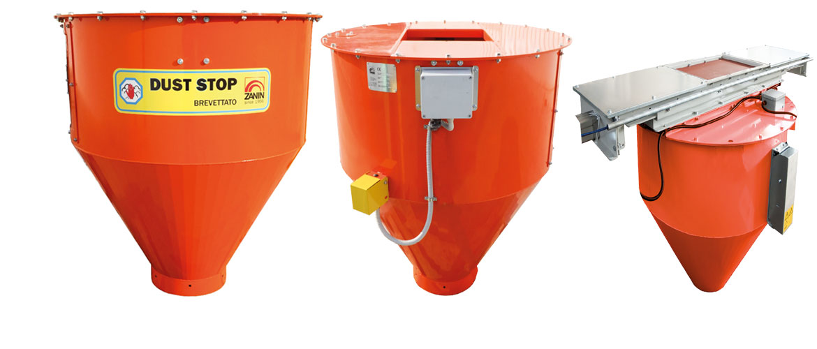 DS - DUST STOP Dust collector