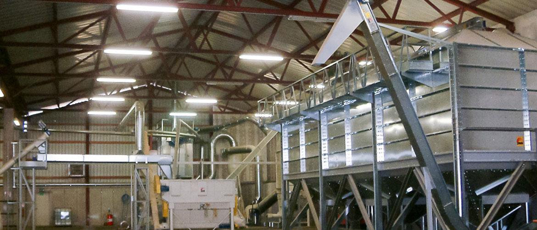 Équipement de production de granulés